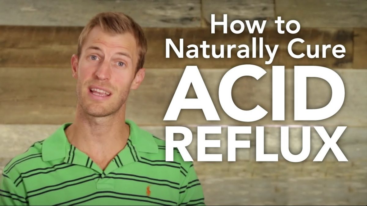 How to Naturally Cure Acid Reflux