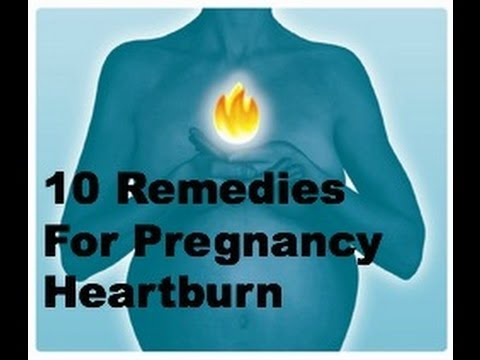 10 Natural Remedies For Pregnancy Heartburn