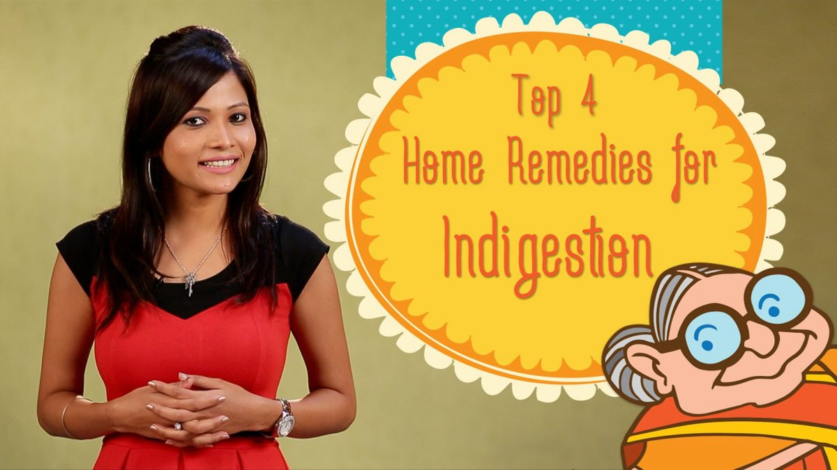 Heartburn & Indigestion – Top 4 Ayurvedic Home Remedies to Cure Acid Re-flux, Stomach Bloating