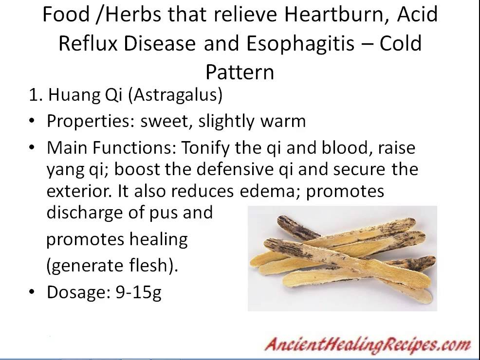 Cure GERD and Heartburn naturally – step by step solution with chinese medicine dietary therapy