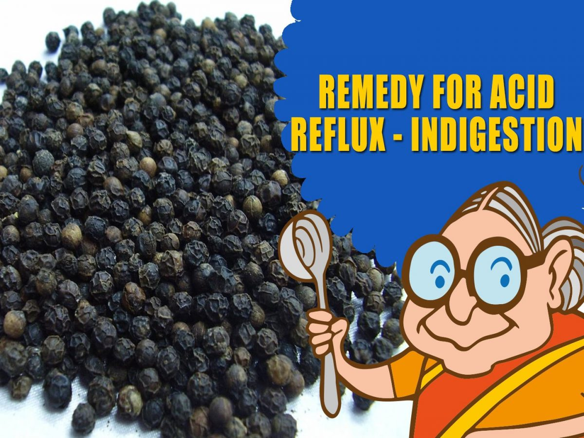 Ayurvedic Home Remedies – Cure for Indigestion, Acid Reflux, Natural Treatment for Heartburn