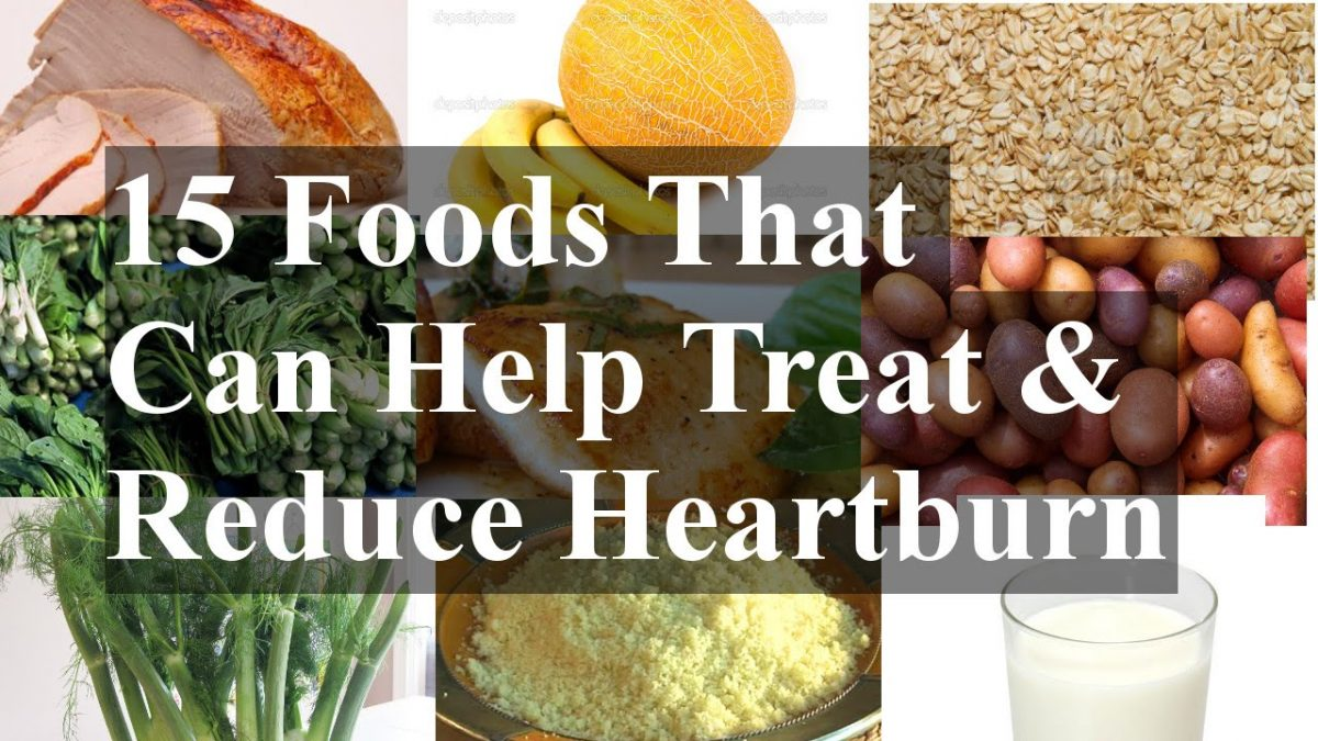 15 Foods That Can Help Treat & Reduce Heartburn
