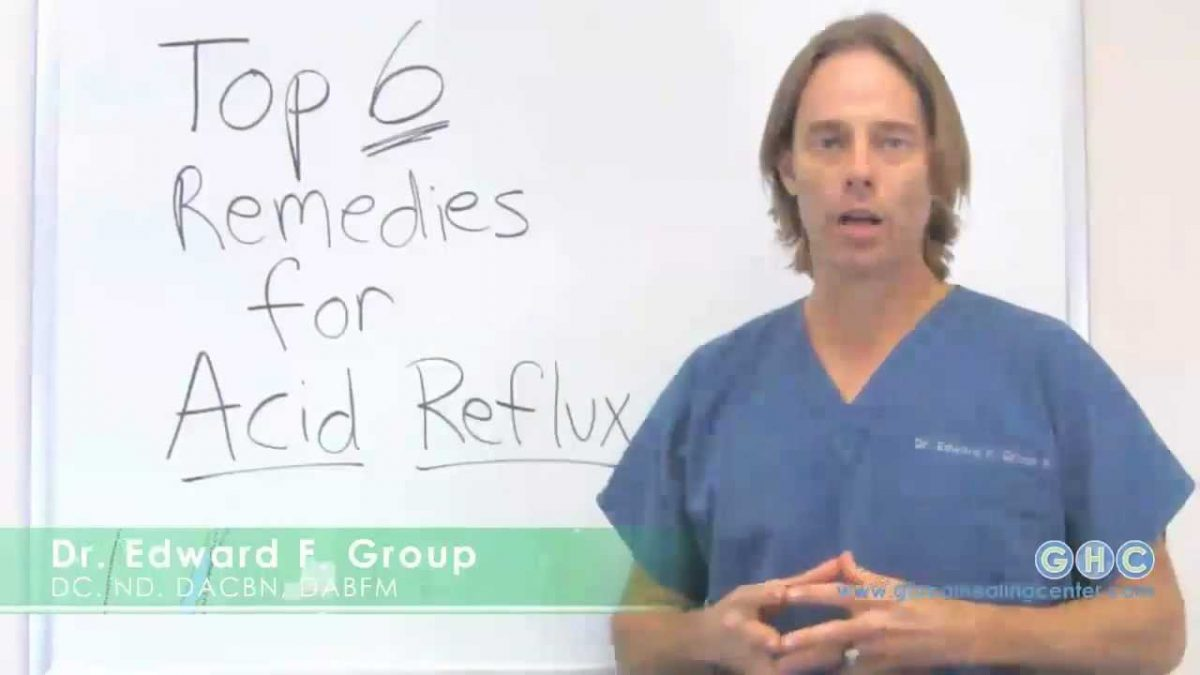 Top 6 Natural Remedies for Acid Reflux